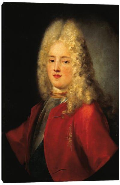 Portrait Of Augustus III Of Poland, As Prince Canvas Art Print