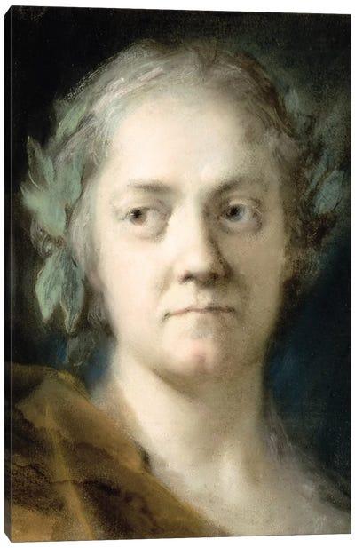 Self-Portrait II Canvas Art Print