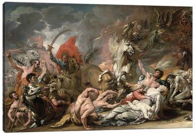 Death on the Pale Horse, 1796 Canvas Art Print
