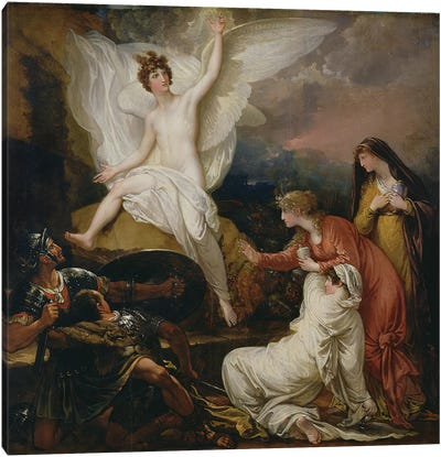 The Angel of the Lord Announcing the Resurrection, 1805 Canvas Art Print