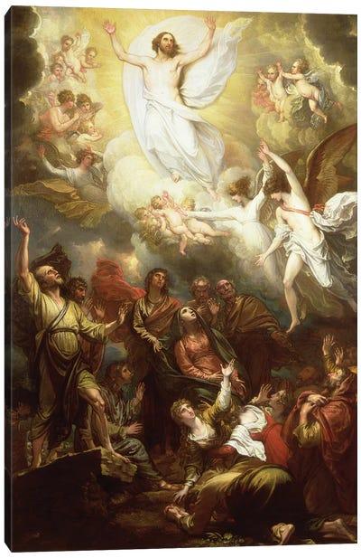 The Ascension Canvas Art Print