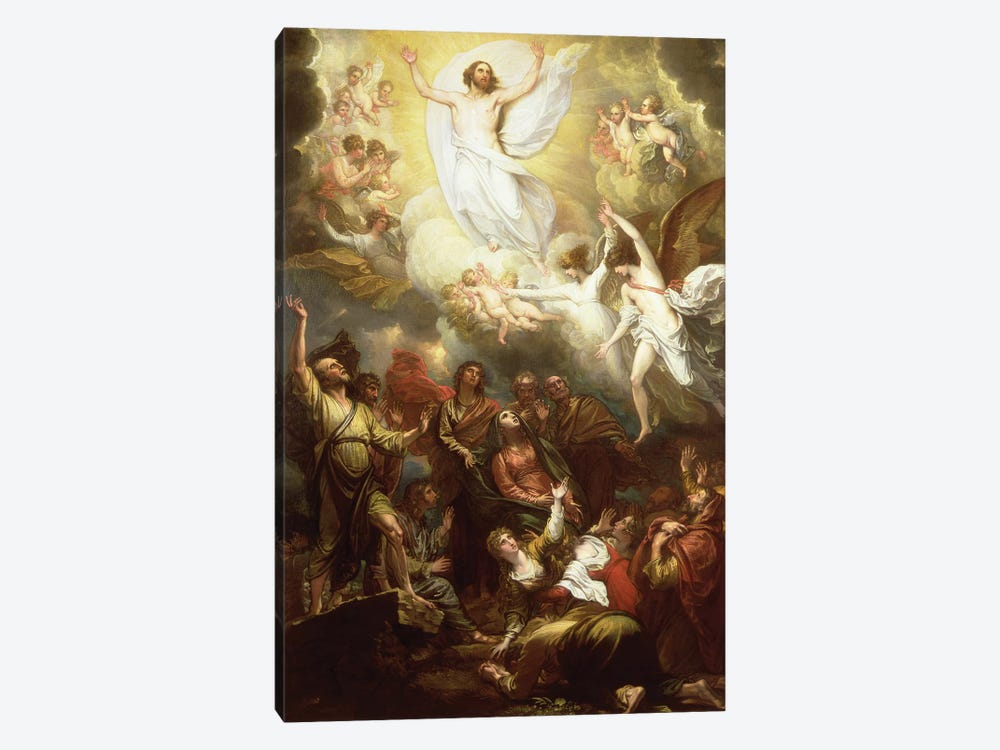 The Ascension by Benjamin West 1-piece Canvas Art Print