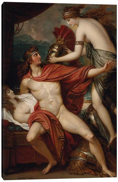 Thetis Bringing the Armor to Achilles, 1804 Canvas Art Print