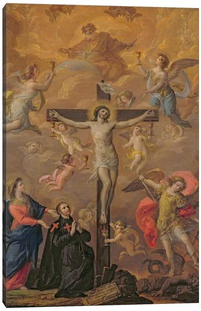 Homage to Guido Reni Canvas Art Print