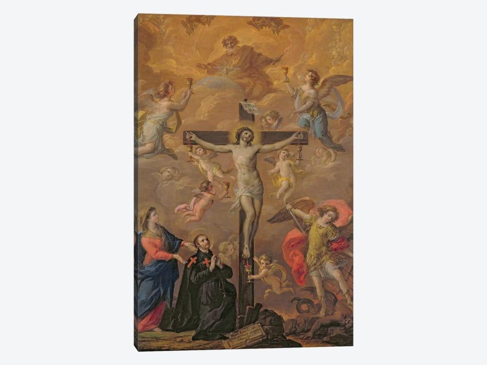 Homage to Guido Reni by Corrado Giaquinto 1-piece Canvas Print