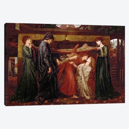 Dante's Dream Canvas Print #BMN8161} by Dante Gabriel Charles Rossetti Canvas Print
