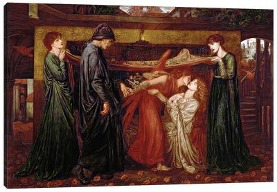 Dante's Dream Canvas Art Print