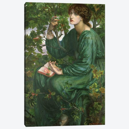 Day Dream, 1880 3-Piece Canvas #BMN8162} by Dante Gabriel Charles Rossetti Canvas Print