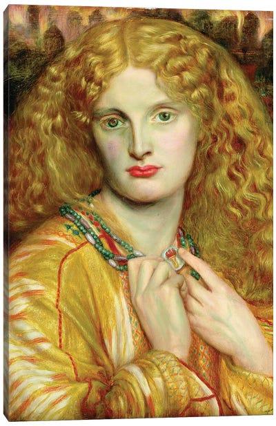 Helen of Troy, 1863 Canvas Art Print