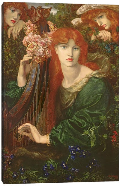 La Ghirlandata, 1873 Canvas Art Print