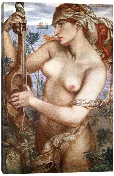 Ligeia Siren, 1873 Canvas Art Print