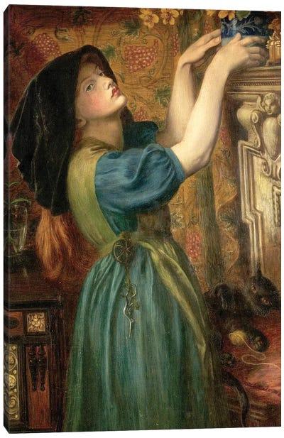 Marigolds (The Bower Maiden, Fleur-de-Marie), 1874 Canvas Art Print