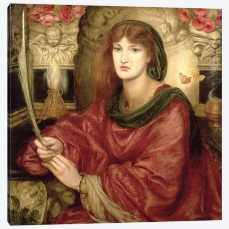 Sibylla Palmifera Canvas Print #BMN8168} by Dante Gabriel Charles Rossetti Art Print