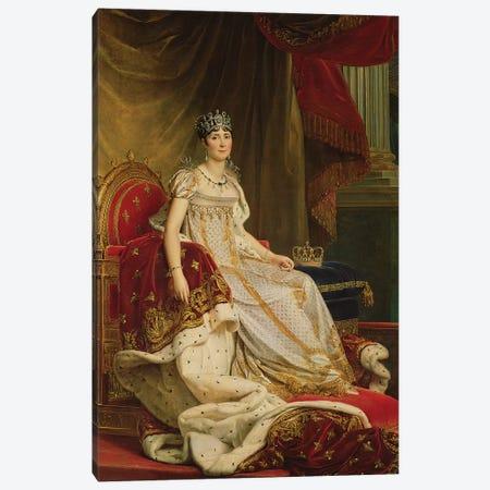 Empress Josephine (1763-1814) 1808 Canvas Print #BMN8173} by Francois Pascal Simon Gerard Canvas Art