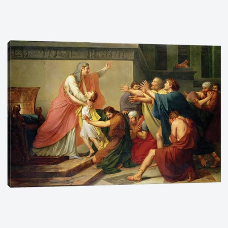 Joseph Recognised by his Brothers Canvas Print #BMN8174} by Francois Pascal Simon Gerard Canvas Print