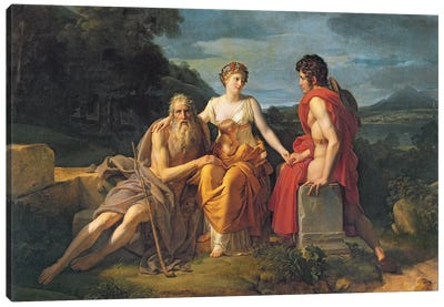 The Three Ages Canvas Art Print