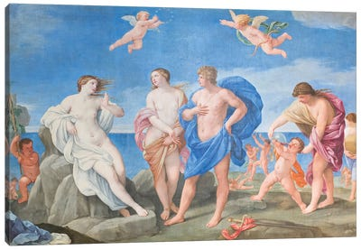 Ariadne and Bacchus Canvas Art Print