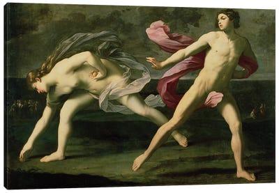 Atalanta and Hippomenes, c.1612 Canvas Art Print