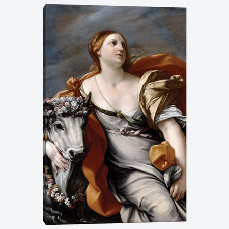 Europa and the Bull  Canvas Print #BMN8185} by Guido Reni Canvas Artwork