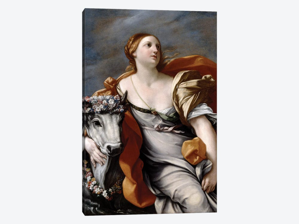 Europa and the Bull  by Guido Reni 1-piece Canvas Artwork