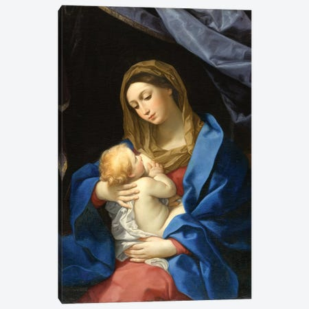 Madonna and Child, c.1628-1630  Canvas Print #BMN8187} by Guido Reni Canvas Art