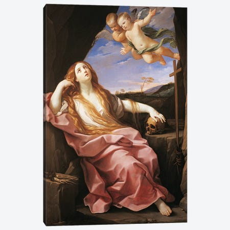 Magdalene, c.1630 Canvas Print #BMN8188} by Guido Reni Art Print