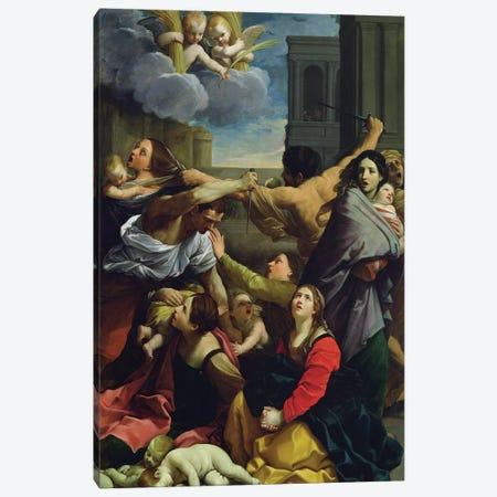 Massacre of the Innocents, 1611  Canvas Print #BMN8189} by Guido Reni Canvas Art Print