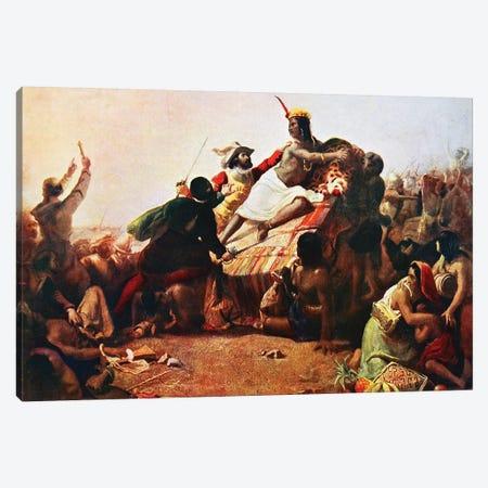 Pizarro Seizing the Inca of Peru John Everett Millais, 1754 Canvas Print #BMN8191} by Guido Reni Canvas Artwork