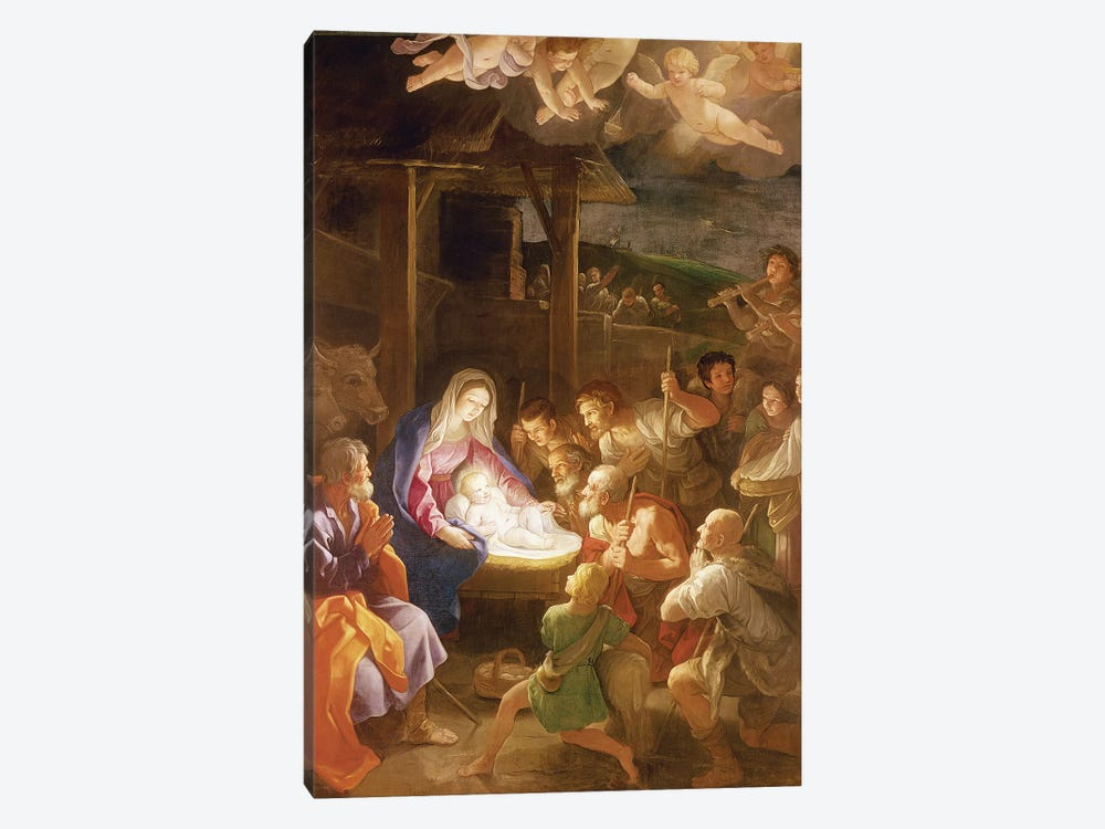 The Nativity at Night, 1640  1-piece Art Print