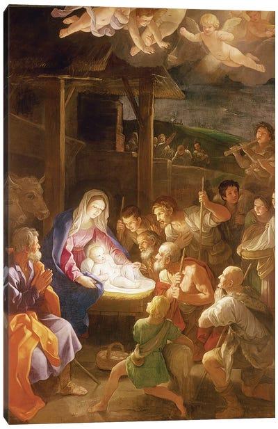 The Nativity at Night, 1640  Canvas Art Print