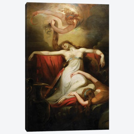 Dido, 1781  Canvas Print #BMN8200} by Henry Fuseli Canvas Wall Art