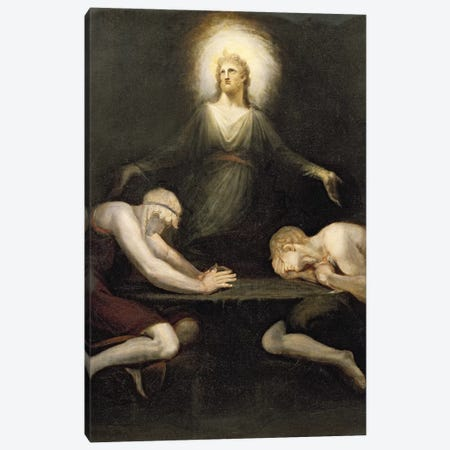 The Appearance of Christ at Emmaus, 1792  Canvas Print #BMN8201} by Henry Fuseli Canvas Wall Art