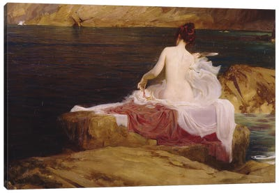 Calypso's Isle, 1897  Canvas Art Print