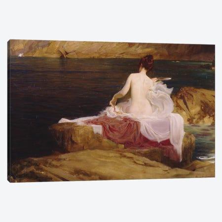 Calypso's Isle, 1897  Canvas Print #BMN8204} by Herbert James Draper Canvas Art Print