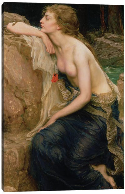 Lamia, c.1909  Canvas Art Print