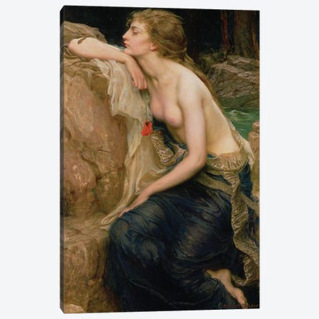 Lamia, c.1909  Canvas Print #BMN8207} by Herbert James Draper Canvas Print
