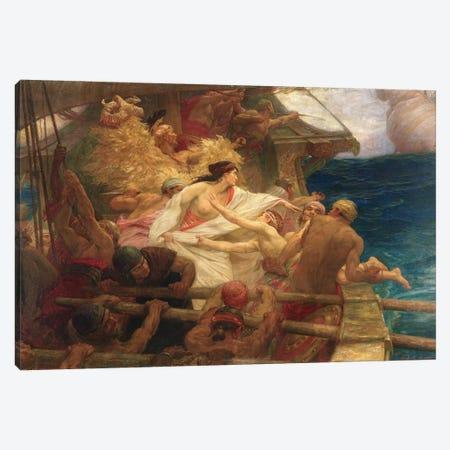 The Golden Fleece, 1904  Canvas Print #BMN8212} by Herbert James Draper Art Print