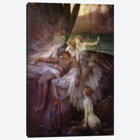 The Lament for Icarus Canvas Print #BMN8213} by Herbert James Draper Canvas Print
