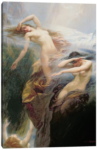 The Mountain Mists or, Clyties of the Mist, 1912  Canvas Art Print