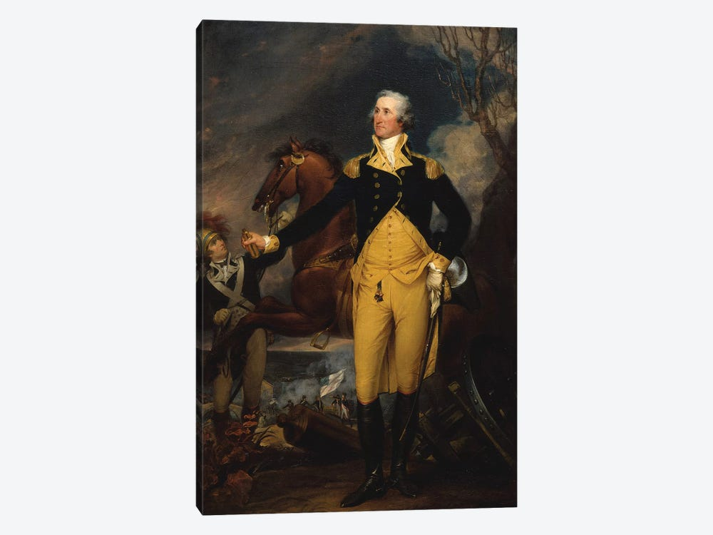 George Washington before the Battle of Trenton, c.1792–94  by John Trumbull 1-piece Art Print