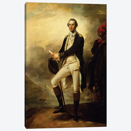 George Washington, 1780  Canvas Print #BMN8221} by John Trumbull Canvas Artwork