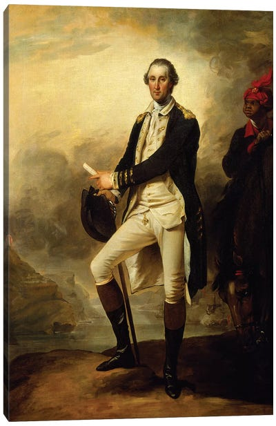 George Washington, 1780  Canvas Art Print