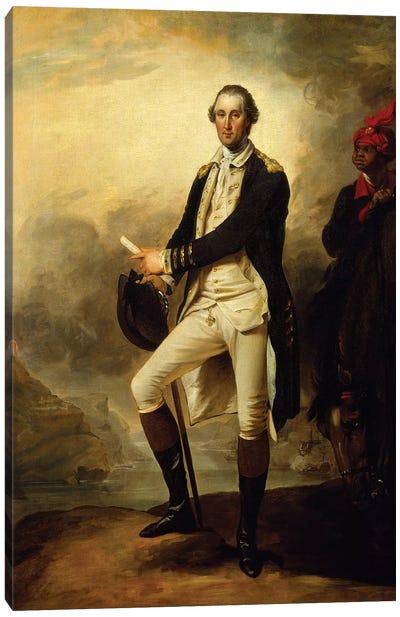 George Washington, 1780  Canvas Art Print