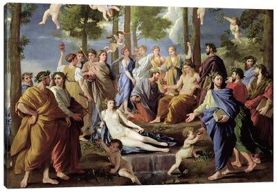 Parnassus, 1626  Canvas Art Print