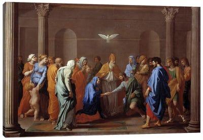 "Sacrament of Christian life: ""Marriage"", 17th century.  Canvas Art Print"