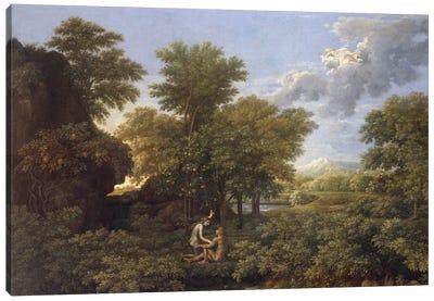 Spring or Earth Paradise, 17th century.  Canvas Art Print
