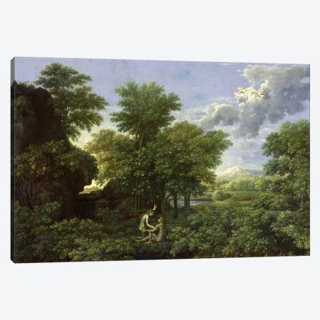 Spring, or The Garden of Eden, 1660-64  Canvas Print #BMN8240} by Nicolas Poussin Canvas Artwork