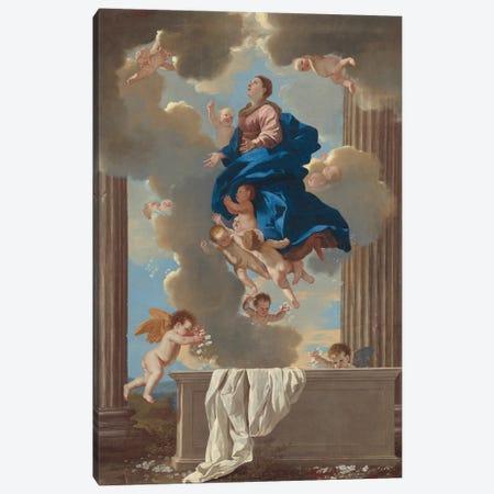 The Assumption of the Virgin, c.1630-32  Canvas Print #BMN8244} by Nicolas Poussin Art Print