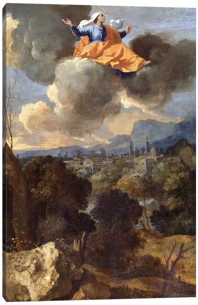 The Translation of St. Rita of Cascia  Canvas Art Print