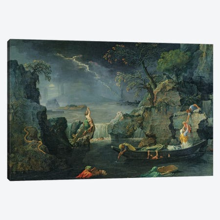Winter, or The Flood, 1660-64  Canvas Print #BMN8253} by Nicolas Poussin Canvas Art Print